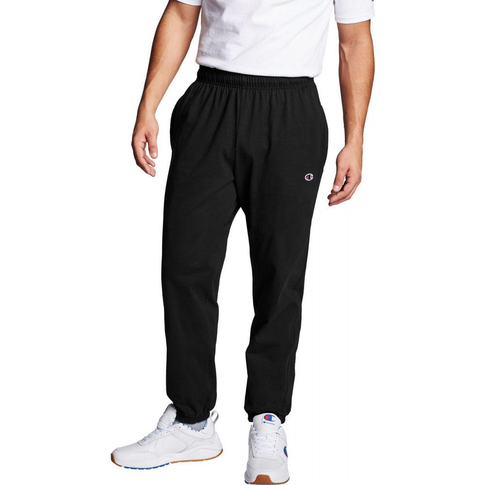 チャンピオン Champion メンズ ボトムス・パンツ 【Closed Bottom Jersey Pants (Regular and Big & Tall)】Black
