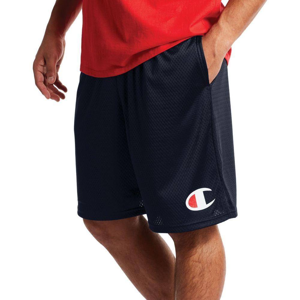 チャンピオン Champion メンズ ショートパンツ ボトムス・パンツ【C Logo Mesh Shorts】Navy