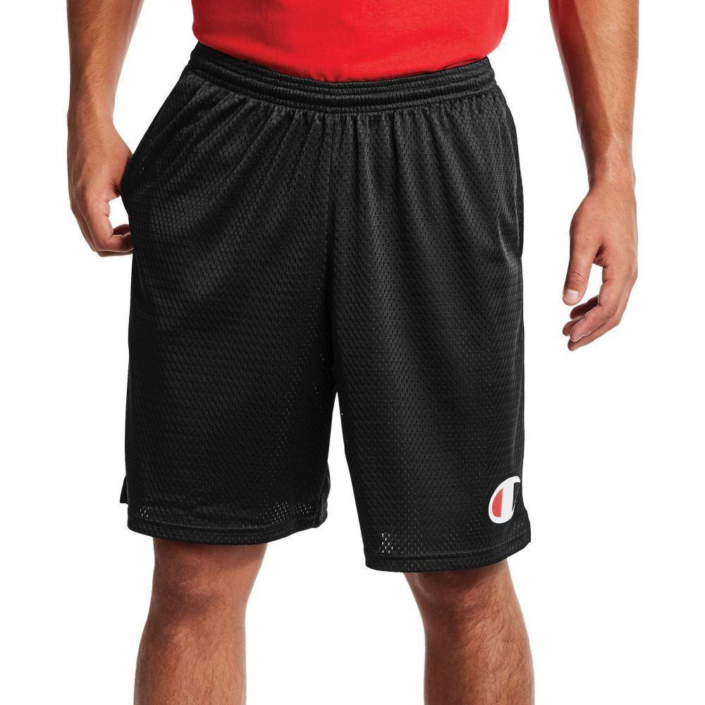 チャンピオン Champion メンズ ショートパンツ ボトムス・パンツ【C Logo Mesh Shorts】Black
