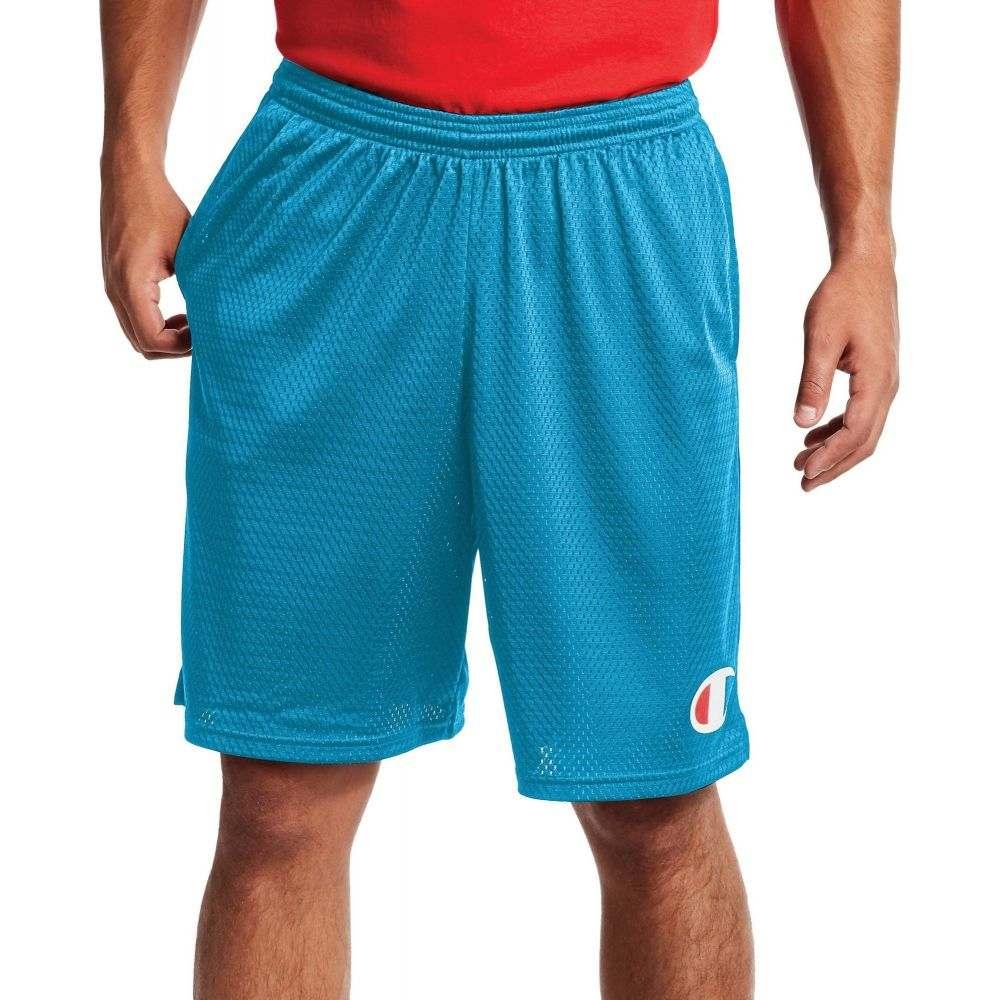 チャンピオン Champion メンズ ショートパンツ ボトムス・パンツ【C Logo Mesh Shorts】Deep Blue Water