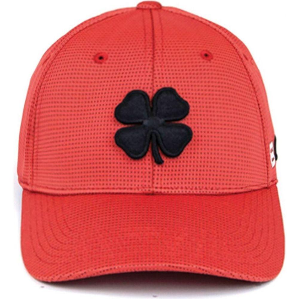 ブラック クローバー Black Clover メンズ キャップ 帽子【Iron X Golf Hat】Black/Red