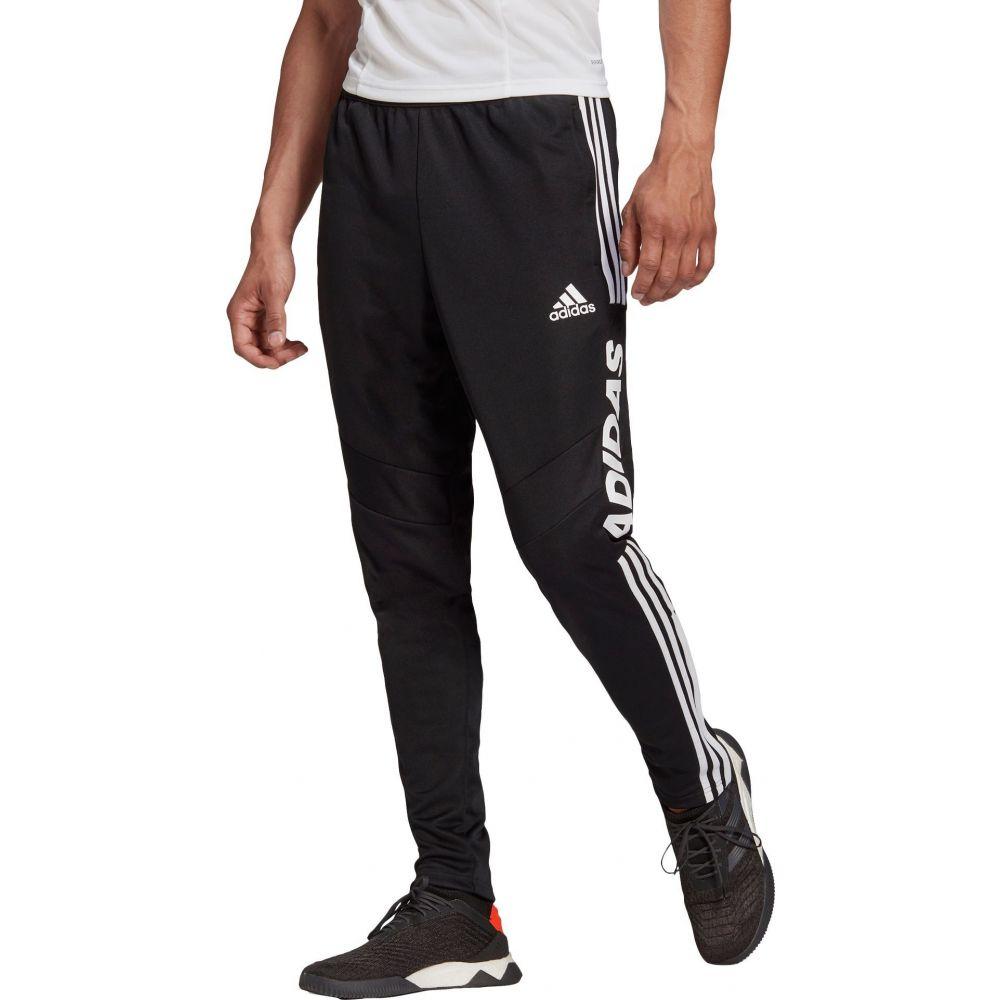 アディダス adidas メンズ フィットネス・トレーニング ボトムス・パンツ【Tiro 19 Wordmark Training Pants】Black/White