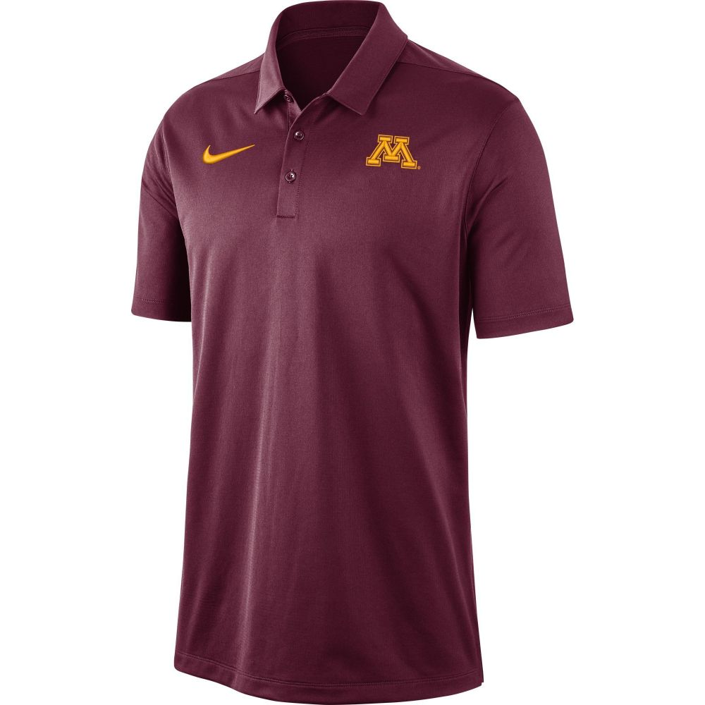 ナイキ Nike メンズ ポロシャツ ドライフィット トップス【Minnesota Golden Gophers Maroon Dri-FIT Franchise Polo】