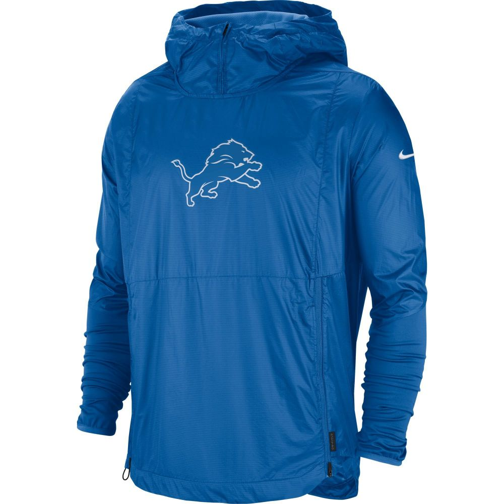 ナイキ Nike メンズ ジャケット アウター【Detroit Lions Sideline Repel Player Blue Jacket】