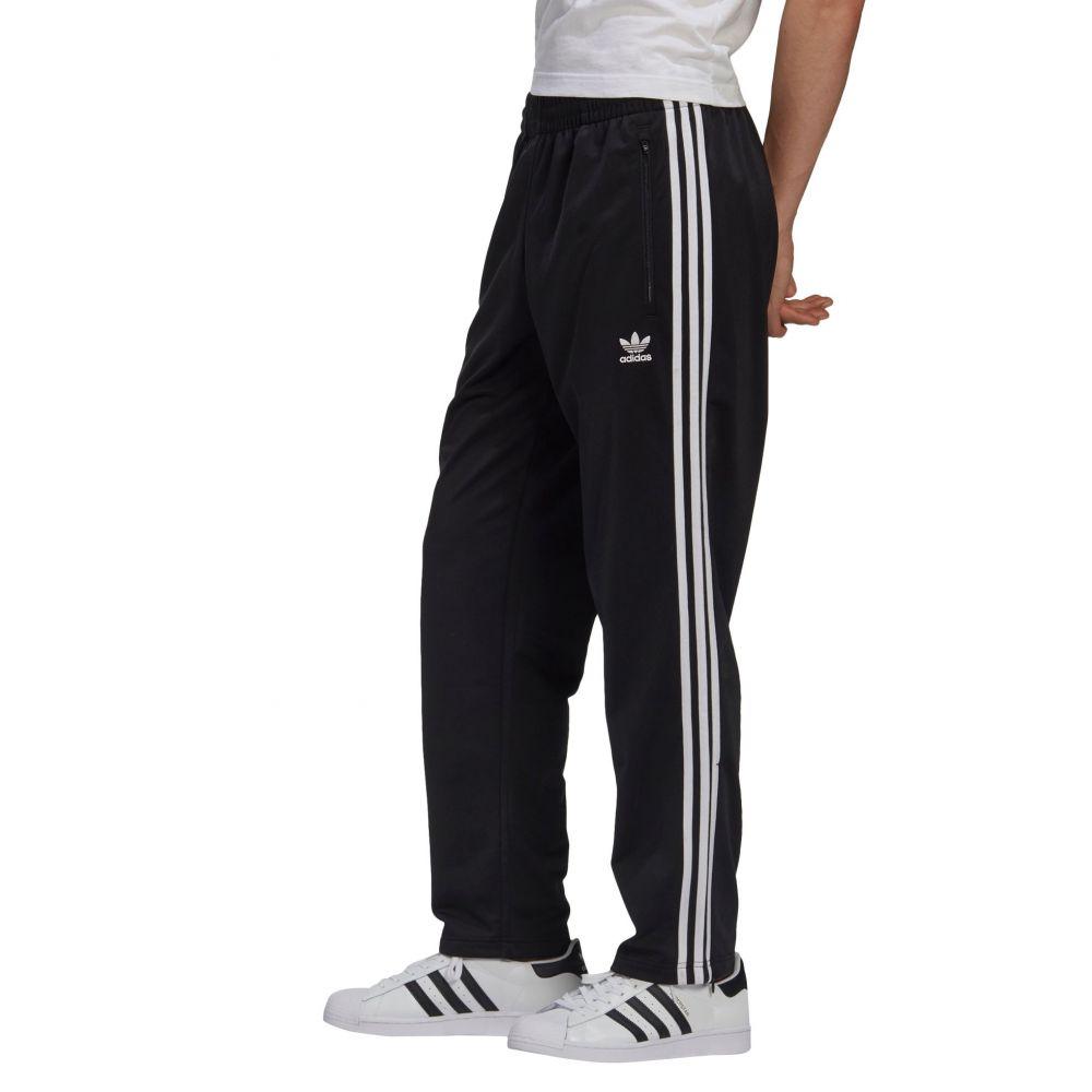 アディダス adidas メンズ スウェット・ジャージ ボトムス・パンツ【Firebird Track Pants】Black/White