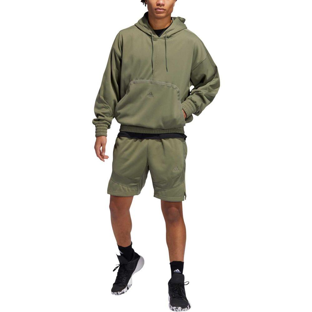 アディダス adidas メンズ パーカー トップス【Cross Up 365 Hoodie】Green
