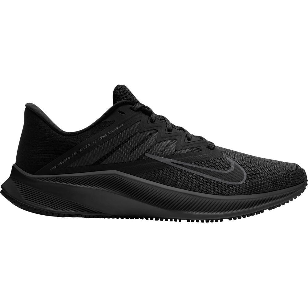 ナイキ Nike メンズ ランニング・ウォーキング シューズ・靴【Quest 3 Running Shoes】Black/Dark Grey