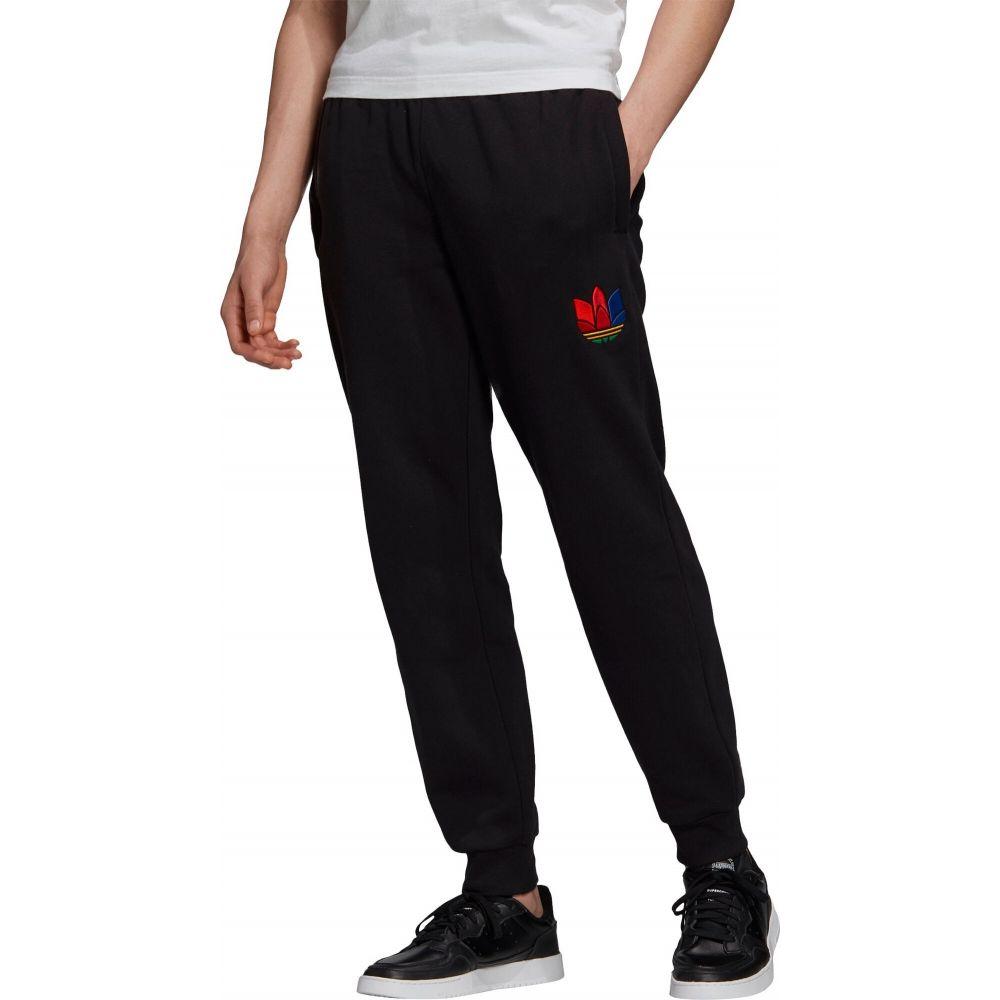 アディダス adidas メンズ スウェット・ジャージ ボトムス・パンツ【Originals 3D Trefoil Graphic Sweatpants】Black