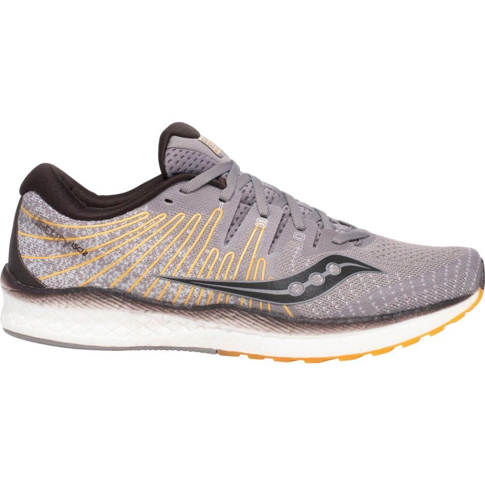 サッカニー Saucony メンズ ランニング・ウォーキング シューズ・靴【Liberty ISO 2 Running Shoes】Grey/Yellow