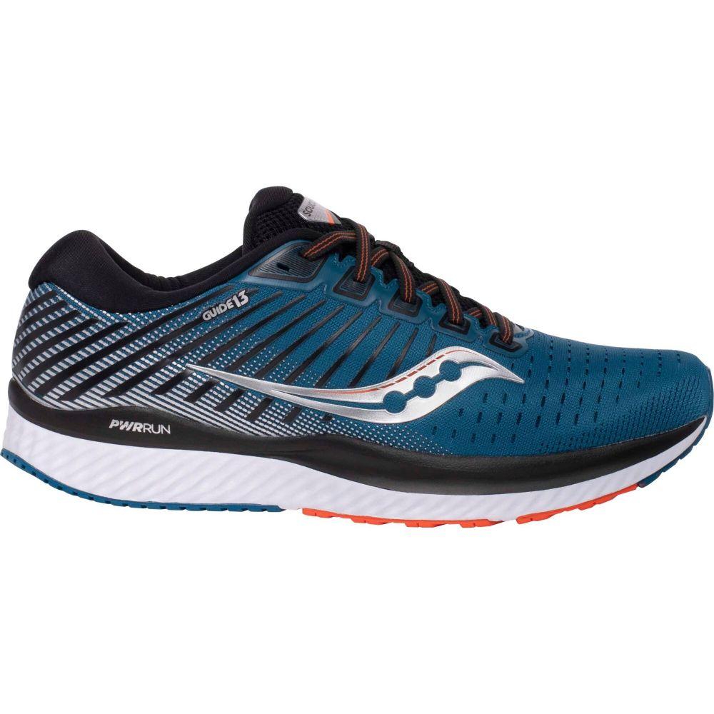 サッカニー Saucony メンズ ランニング・ウォーキング シューズ・靴【Guide 13 Running Shoes】Blue/Silver