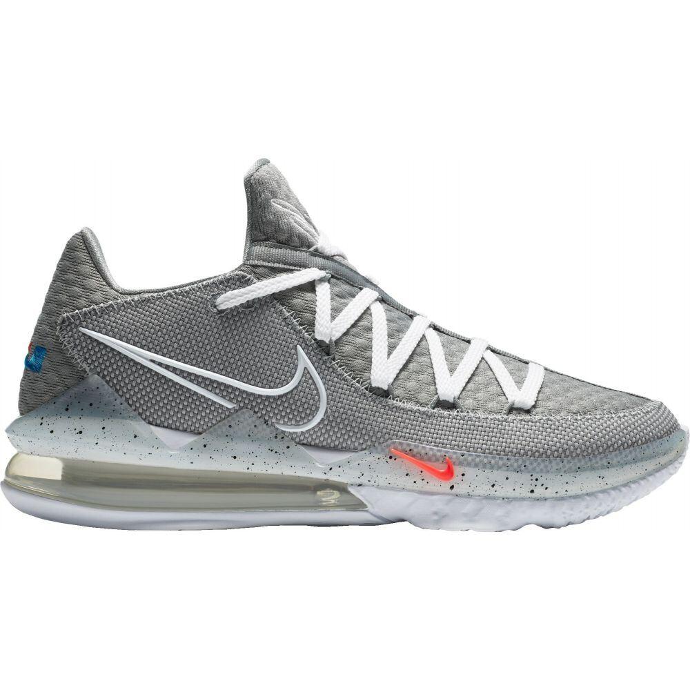ナイキ Nike メンズ バスケットボール シューズ・靴【LeBron 17 Low Basketball Shoes】Grey/Wht/Gry/Black
