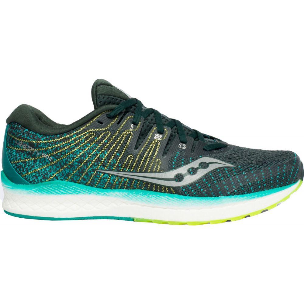 サッカニー Saucony メンズ ランニング・ウォーキング シューズ・靴【Liberty ISO 2 Running Shoes】Green