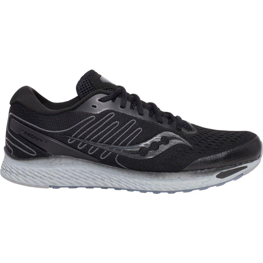 サッカニー Saucony メンズ ランニング・ウォーキング シューズ・靴【Freedom 3 Running Shoes】Black