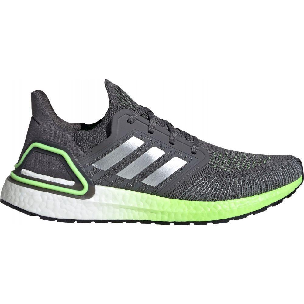 アディダス adidas メンズ ランニング・ウォーキング シューズ・靴【Ultraboost 20 Running Shoes】Grey/Silver/Green