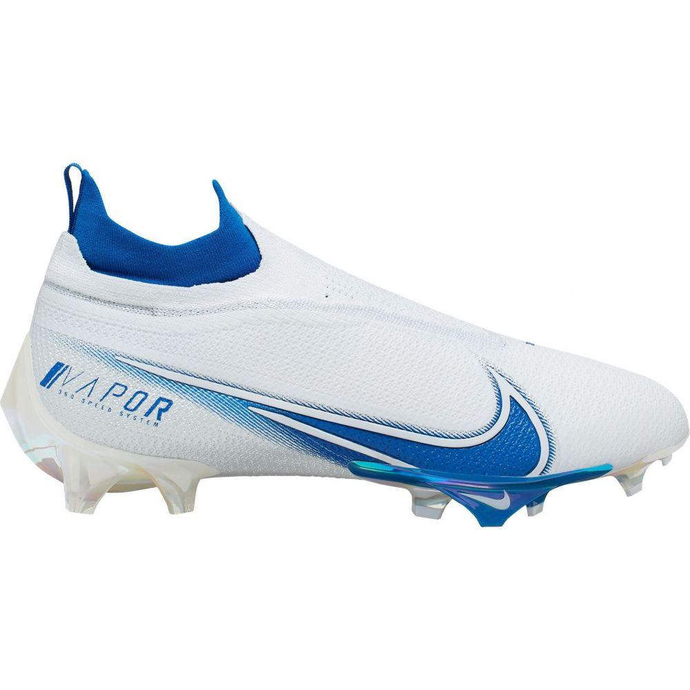 ナイキ Nike メンズ アメリカンフットボール スパイク シューズ・靴【Vapor Edge Elite 360 Football Cleat】Silver/Royal