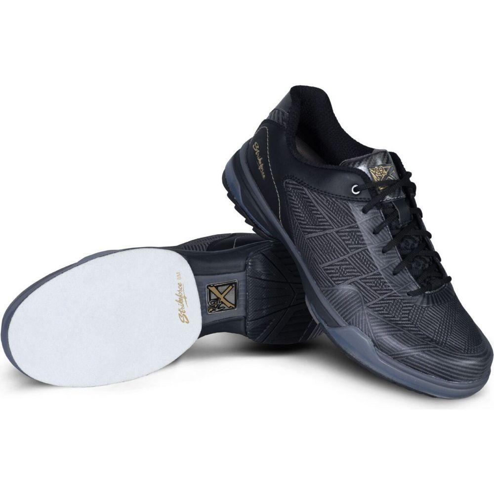 ストライクフォース Strikeforce メンズ ボウリング シューズ・靴【Rage Performance Bowling Shoes】Gunmetal/Black