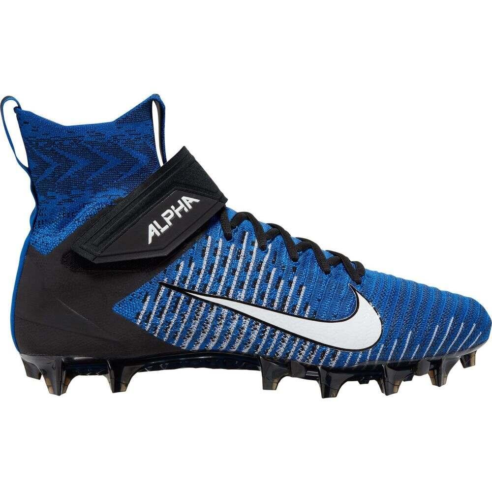 ナイキ Nike メンズ アメリカンフットボール スパイク シューズ・靴【Alpha Menace Elite 2 Football Cleats】Game Royal/Black/White