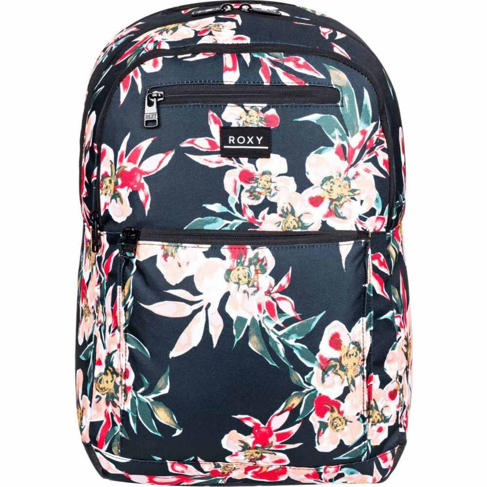 ロキシー Roxy レディース バックパック・リュック バッグ【Here You Are Printed Backpack】ANTHRACITE WONDER GARDEN
