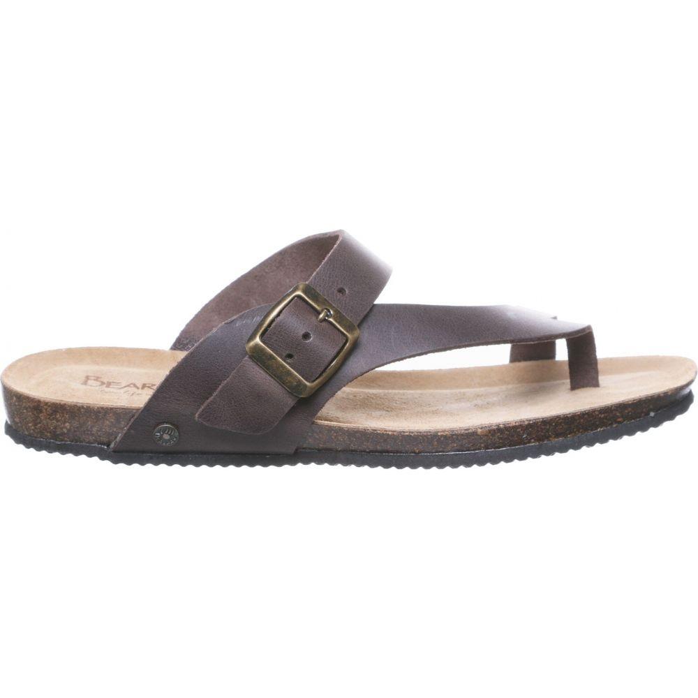 ベアパウ BEARPAW レディース サンダル・ミュール シューズ・靴【Oceania Sandals】Brown