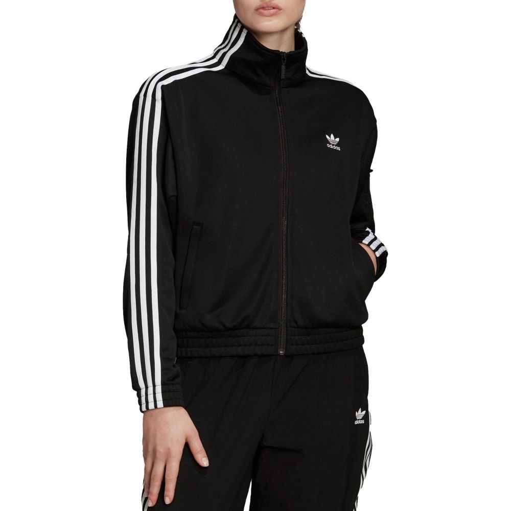 アディダス adidas レディース ジャージ アウター【Originals Bellista Full-Zip Track Jacket】Black/White
