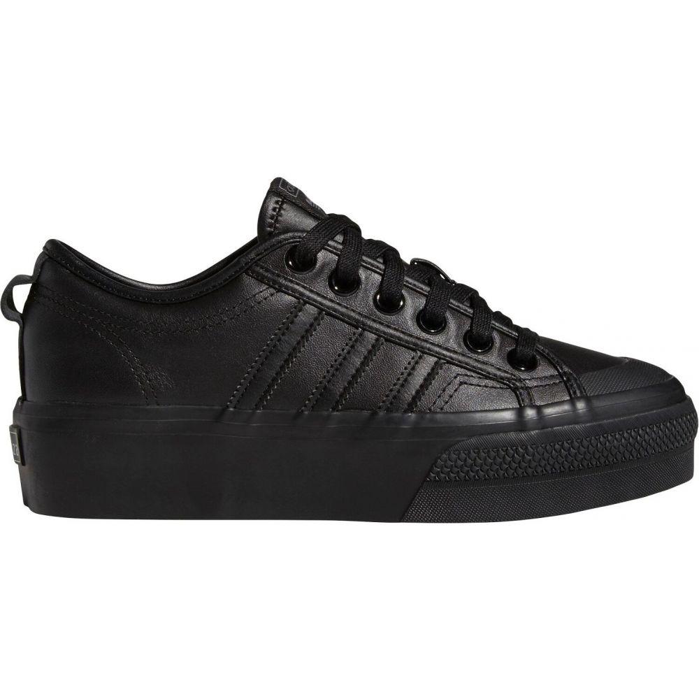 アディダス adidas レディース スニーカー シューズ・靴【Originals Nizza Platform Shoes】Black/Black