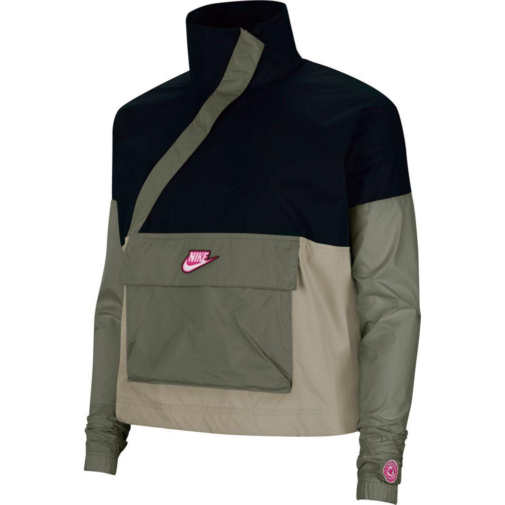 ナイキ Nike レディース ジャケット アノラック アウター【Sportswear Woven Anorak Jacket】Black