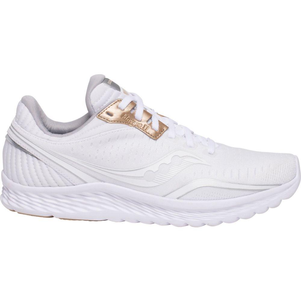 サッカニー Saucony レディース ランニング・ウォーキング シューズ・靴【Kinvara 11 Running Shoes】White