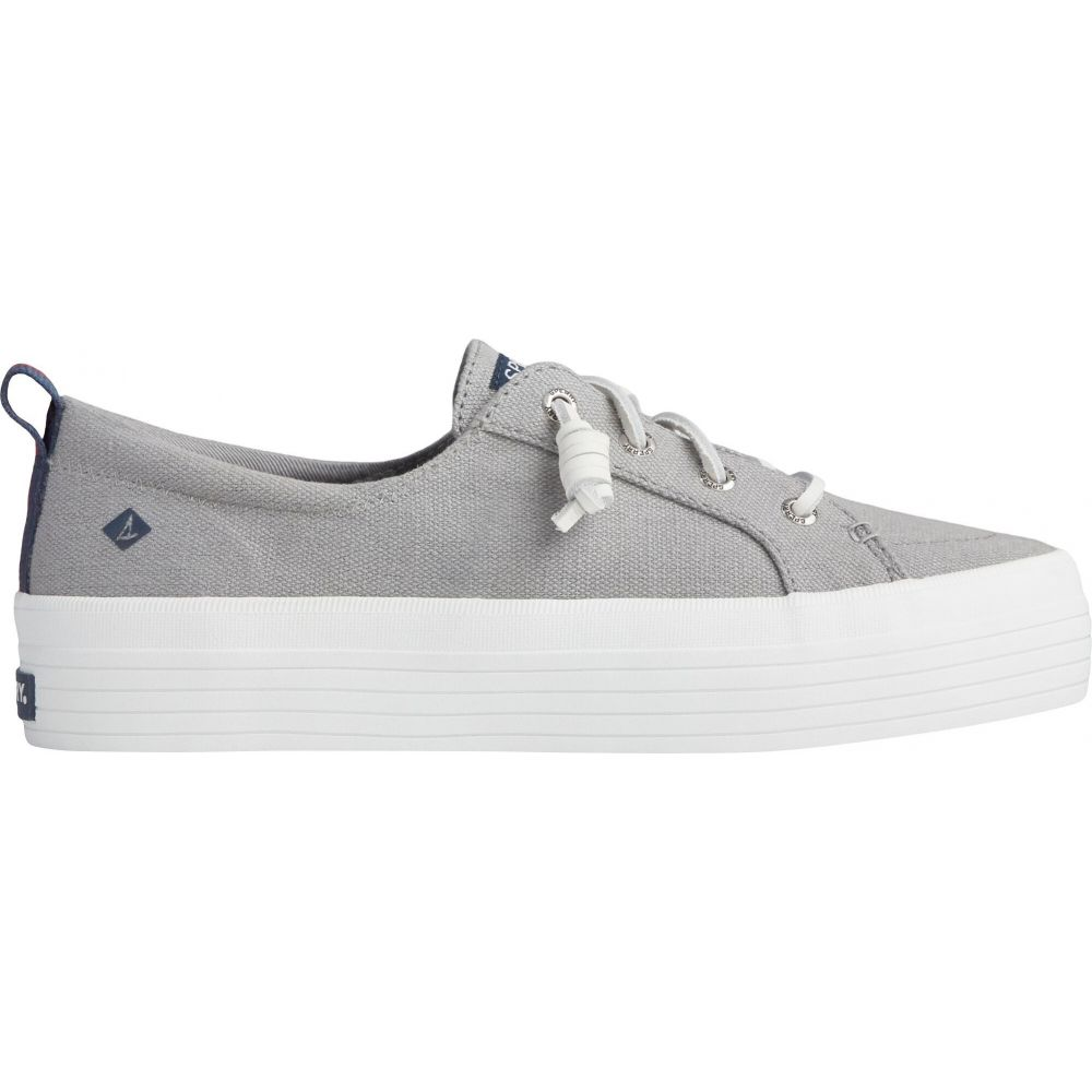スペリートップサイダー Sperry Top-Sider レディース シューズ・靴 【Sperry Crest Vibe Platform Casual Shoes】Grey