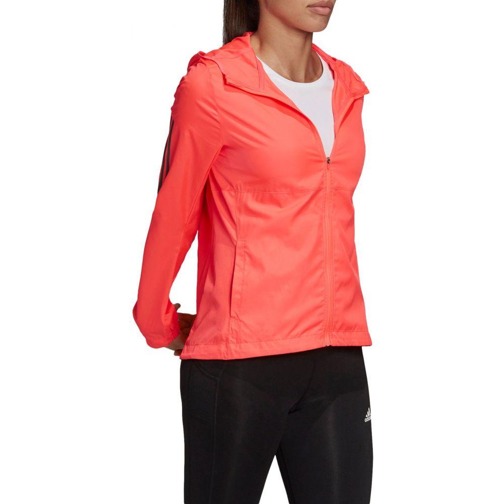 アディダス adidas レディース ジャケット アウター【Own The Run Jacket】Pink