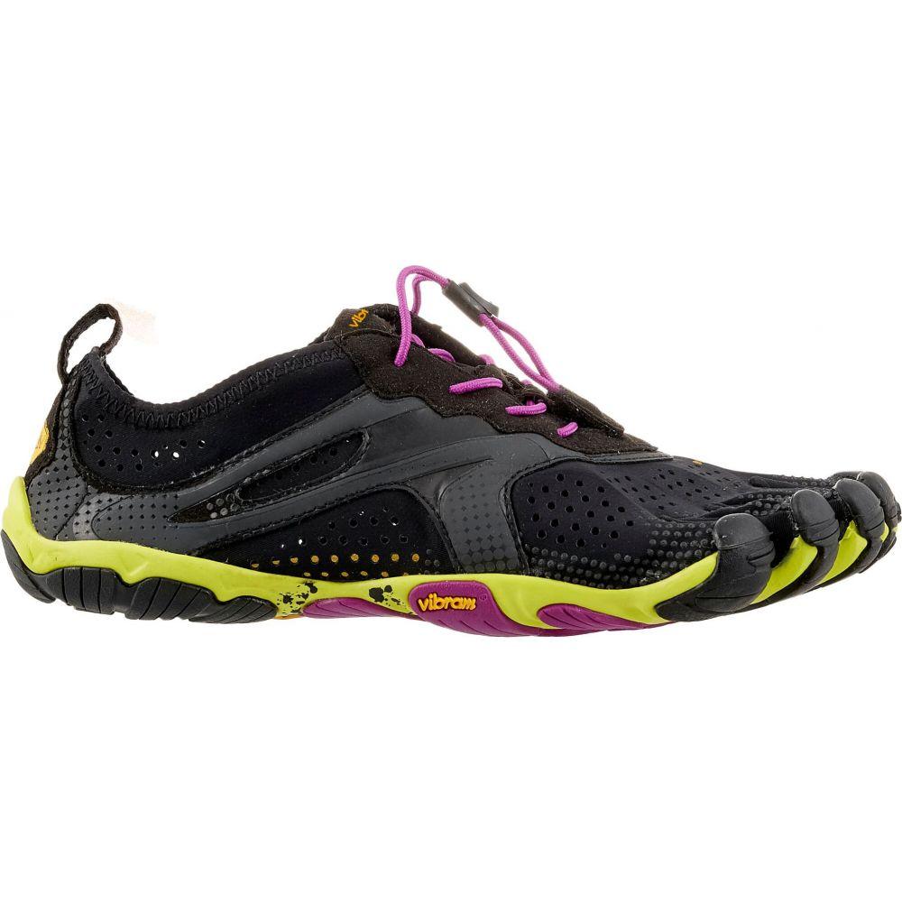 ビブラム Vibram レディース ランニング・ウォーキング ファイブフィンガーズ シューズ・靴【FiveFingers V-Run Running Shoes】Black/Yellow/Purple