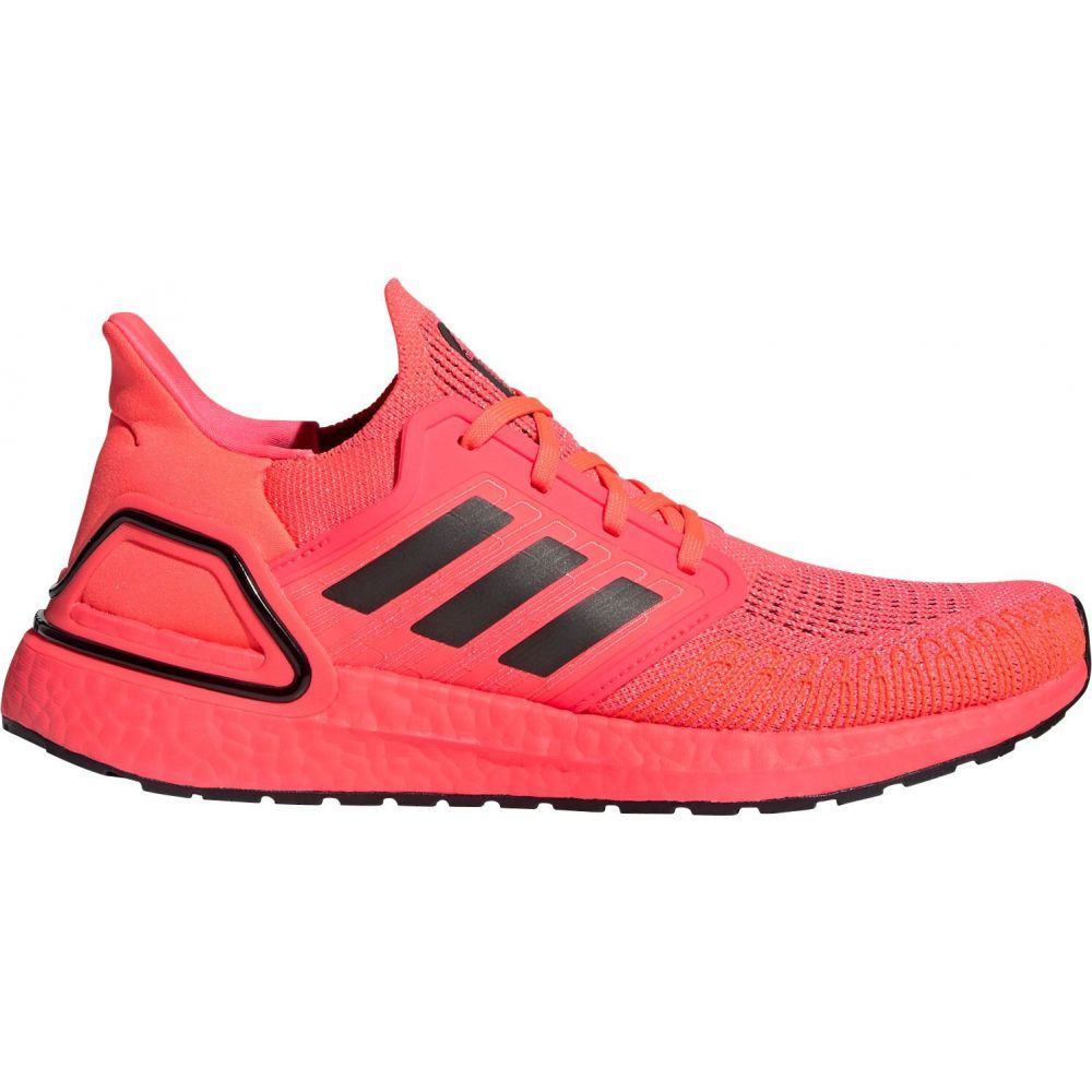 アディダス adidas メンズ ランニング・ウォーキング シューズ・靴【Ultraboost 20 Running Shoes】Pink/Black/Pink
