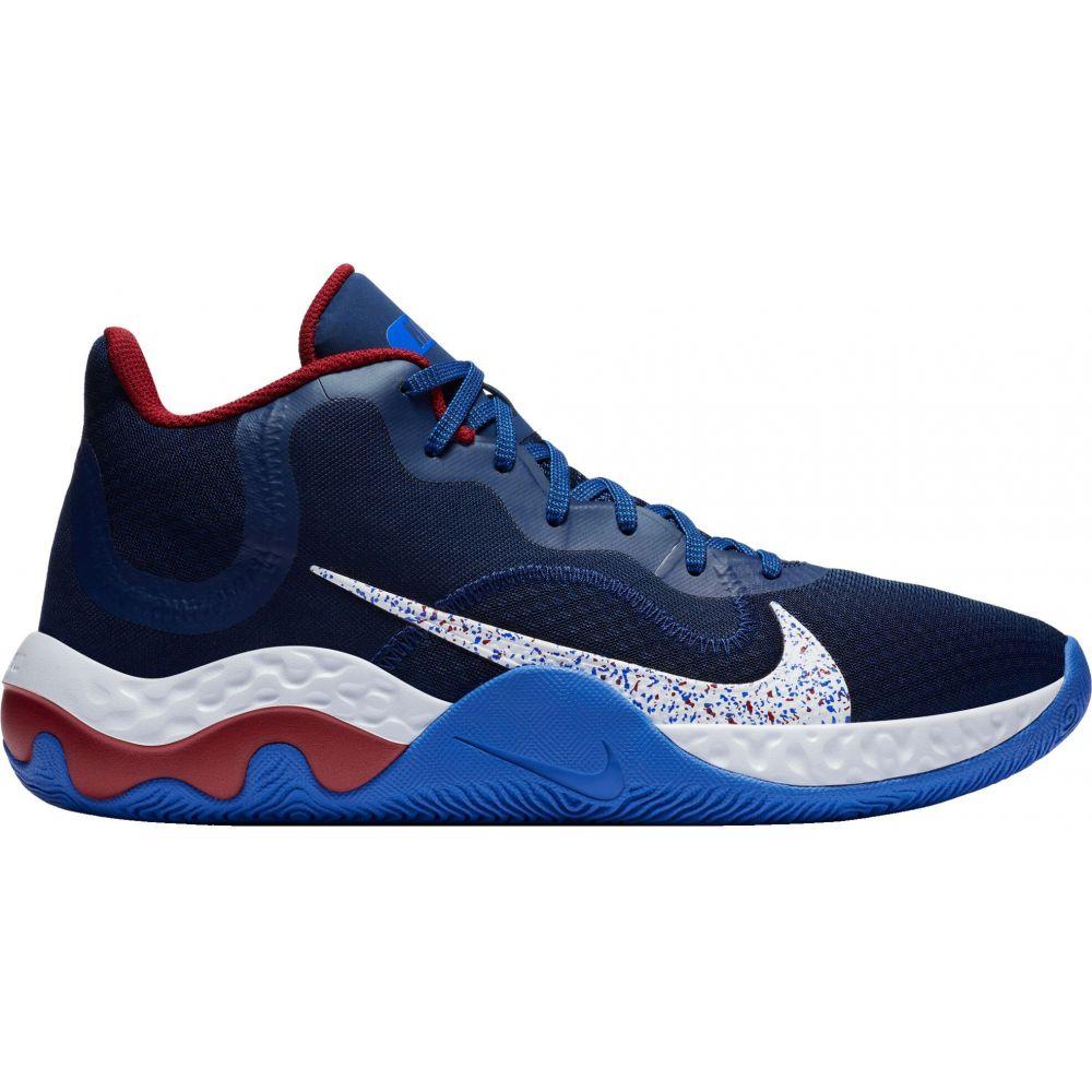 ナイキ Nike メンズ バスケットボール シューズ・靴【Renew Elevate Basketball Shoes】Blue/Red/Blue