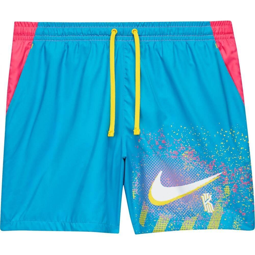 ナイキ Nike メンズ バスケットボール ショートパンツ ボトムス・パンツ【Kyrie 90s Woven Basketball Shorts】Lt Blue Fury