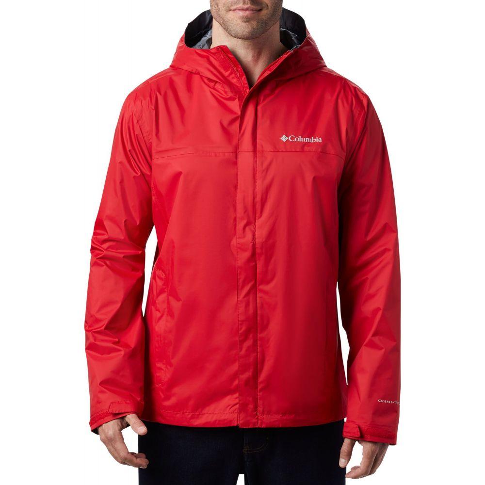 コロンビア Columbia メンズ レインコート アウター【Watertight II Rain Jacket (Regular and Big & Tall)】Mountain Red