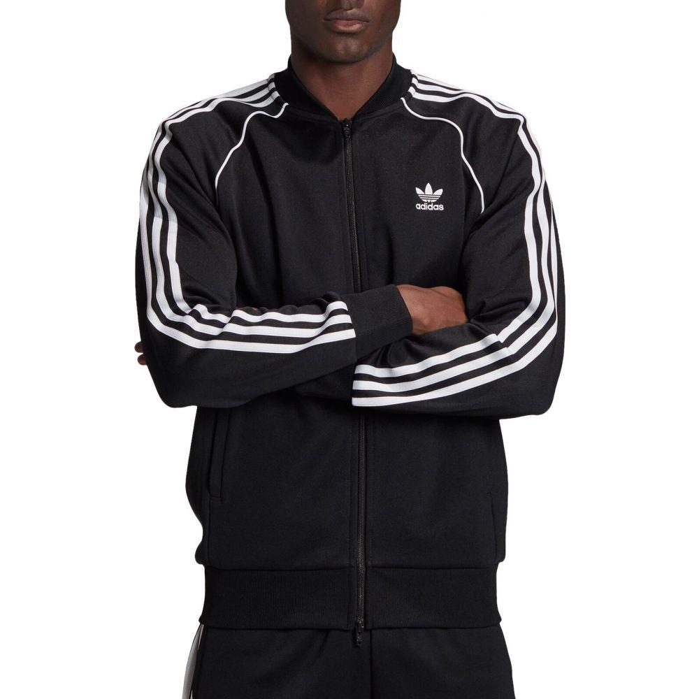 アディダス adidas メンズ ジャージ アウター【Superstar Track Jacket】Black/White