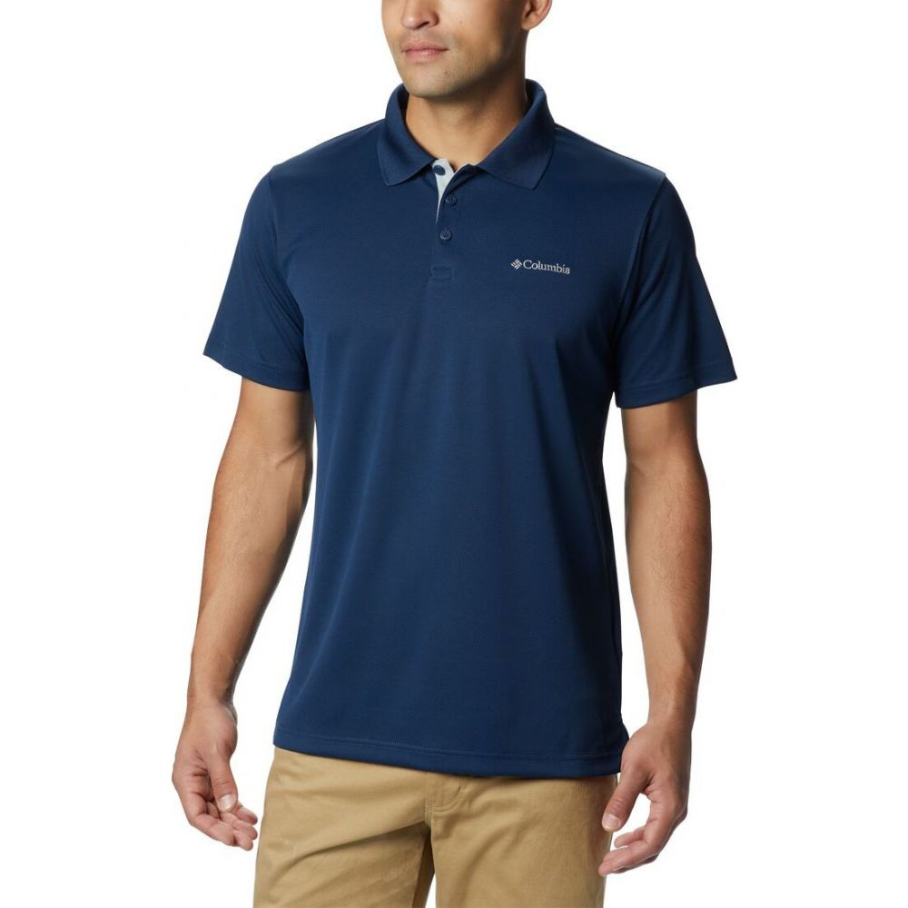 コロンビア Columbia メンズ ポロシャツ トップス【Utilizer Polo】Collegiate Navy