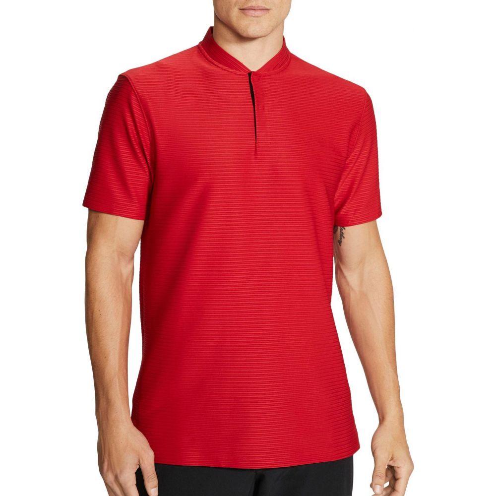 ナイキ Nike メンズ ポロシャツ ドライフィット トップス【Tiger Woods Dri-FIT Polo Shirt】Gym Red