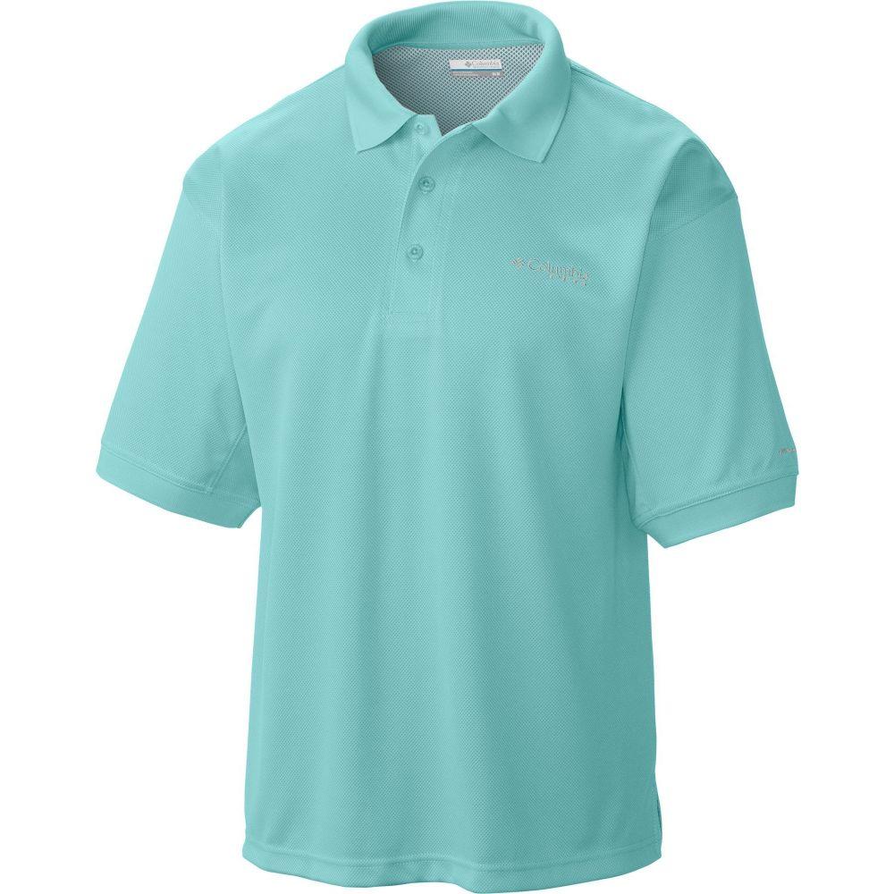 コロンビア Columbia メンズ ポロシャツ トップス【PFG Perfect Cast Polo Shirt】Gulf Stream