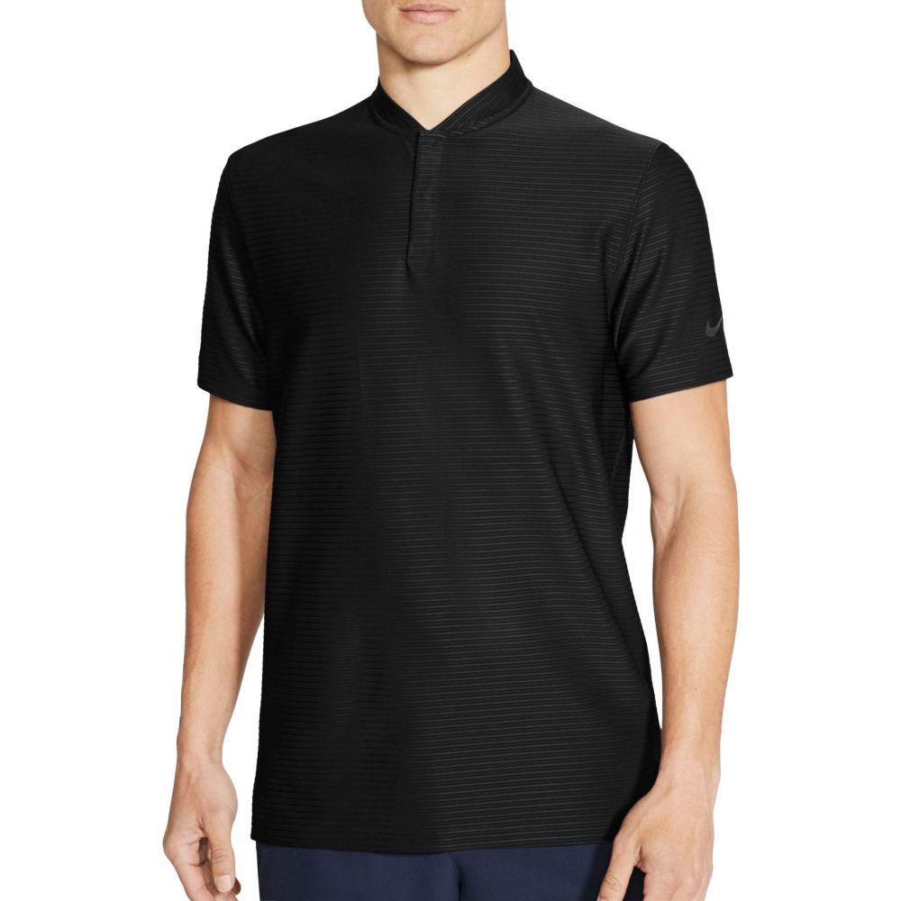 ナイキ Nike メンズ ポロシャツ ドライフィット トップス【Tiger Woods Dri-FIT Polo Shirt】Black