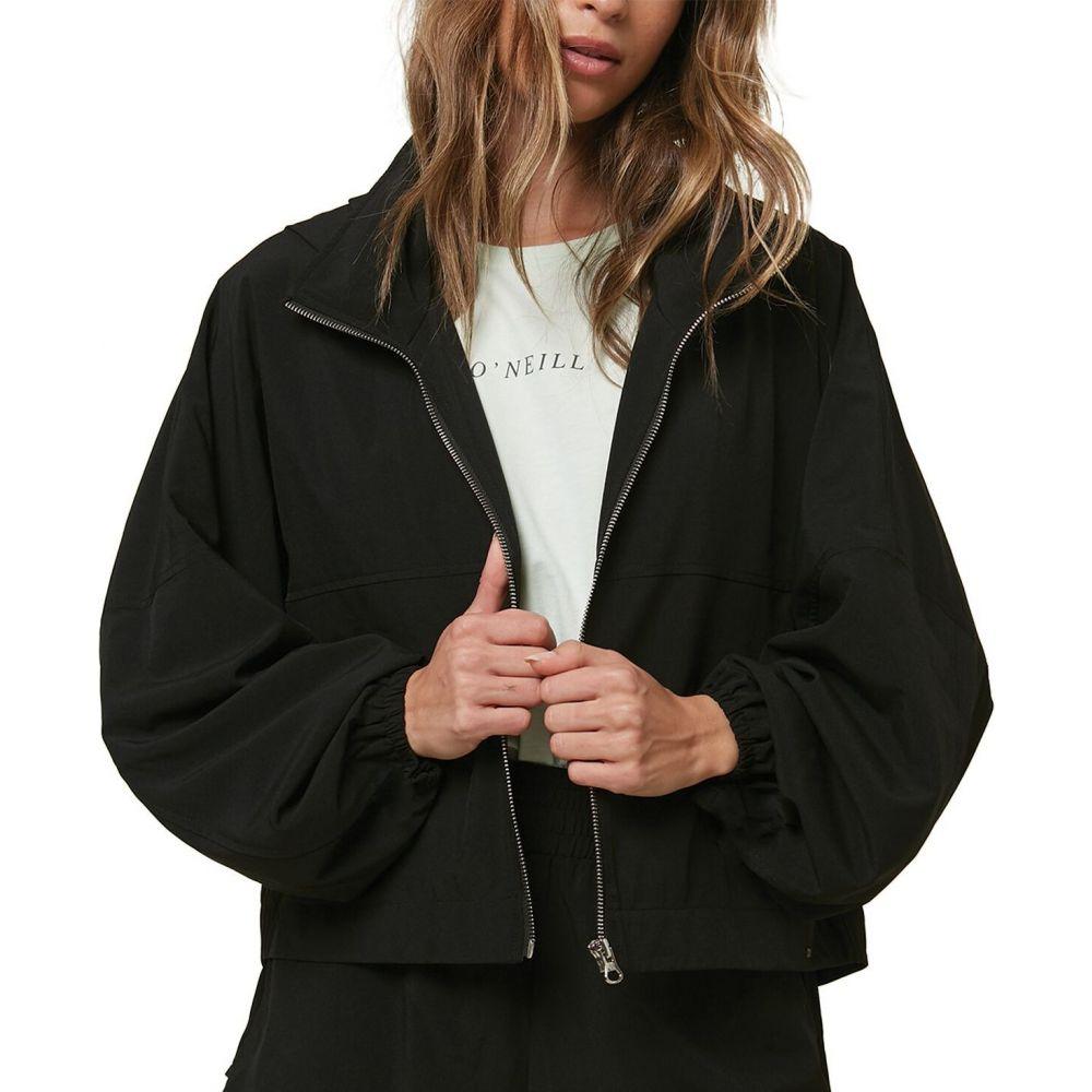 オニール O'Neill レディース ジャケット アウター【Lexington Packable Woven Jacket】Black