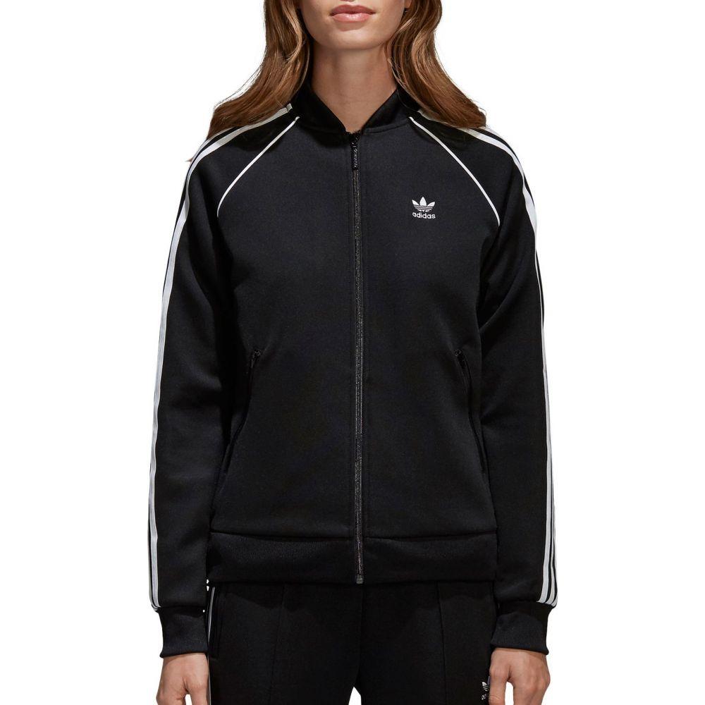 アディダス adidas レディース ジャージ アウター【Originals Track Jacket】Black