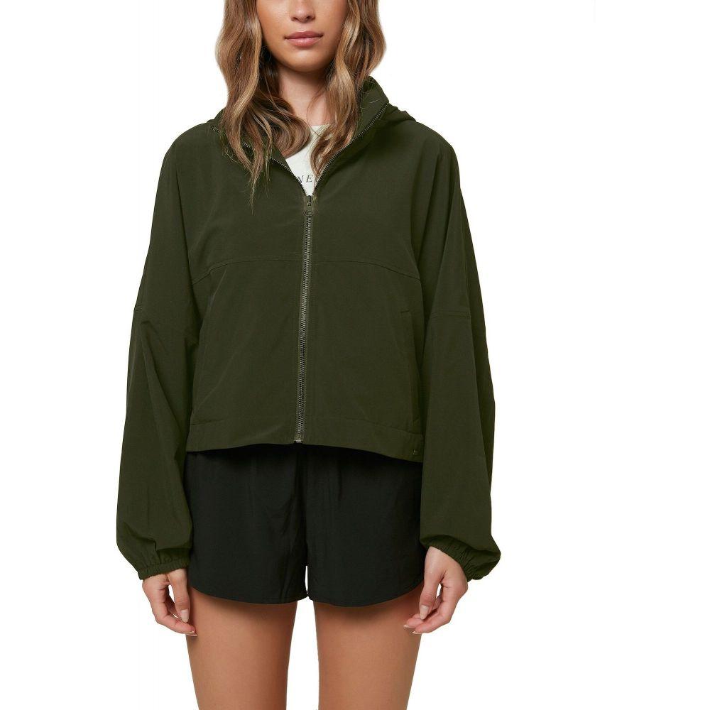 オニール O'Neill レディース ジャケット アウター【Lexington Packable Woven Jacket】Dark Olive