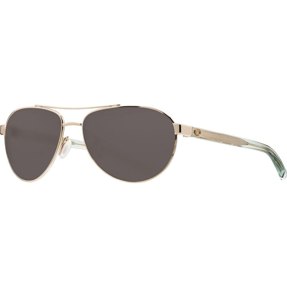 コスタデルメール Costa Del Mar ユニセックス メガネ・サングラス 【Fernandina 580P Sunglasses】Shiny Gold/Gray