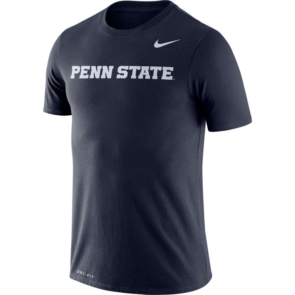 ナイキ メンズ トップス Tシャツ サイズ交換無料 Nike ドライフィット Penn 国内正規品 State T-Shirt Lions Word Nittany Legend Dri-FIT Blue NEW ARRIVAL