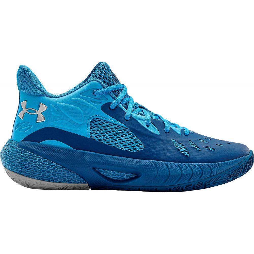 アンダーアーマー Under Armour メンズ バスケットボール シューズ・靴【HOVR Havoc 3 Basketball Shoes】Graphite Blue