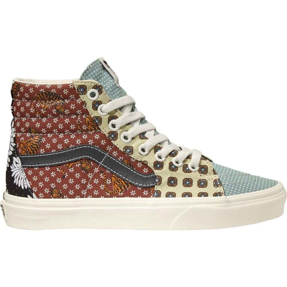 ヴァンズ Vans レディース スニーカー シューズ・靴【SK8-Hi Tiger Patch Work Shoes】Patchwork