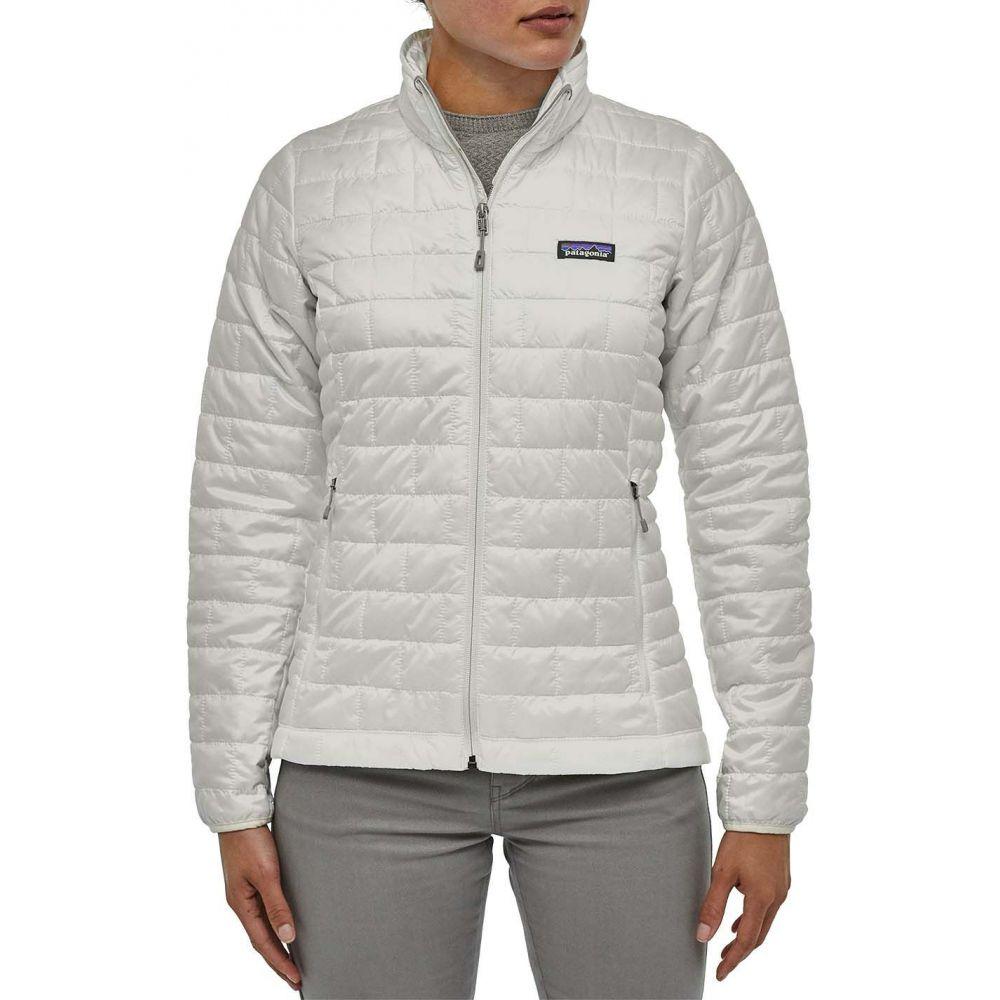 パタゴニア Patagonia レディース ダウン・中綿ジャケット アウター【Nano Puff Insulated Jacket】Birch White