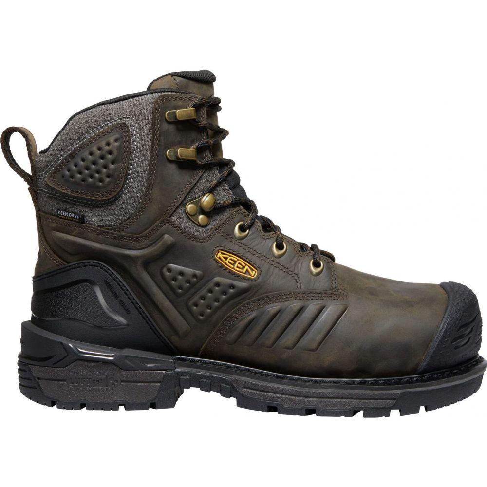 キーン 誕生日プレゼント メンズ シューズ 靴 ブーツ Cascade Brown サイズ交換無料 割引も実施中 Keen Philadelphia Composite Waterproof Boots ワークブーツ 6'' Toe Work KEEN