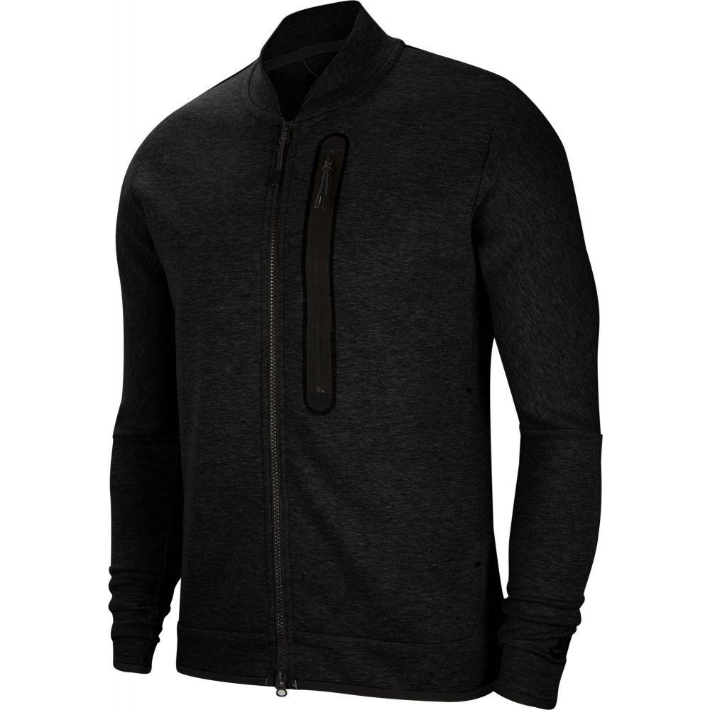 <title>ナイキ メンズ アウター ブルゾン Black サイズ交換無料 Nike ミリタリージャケット Sportswear Tech Fleece Bomber Jacket ディスカウント</title>