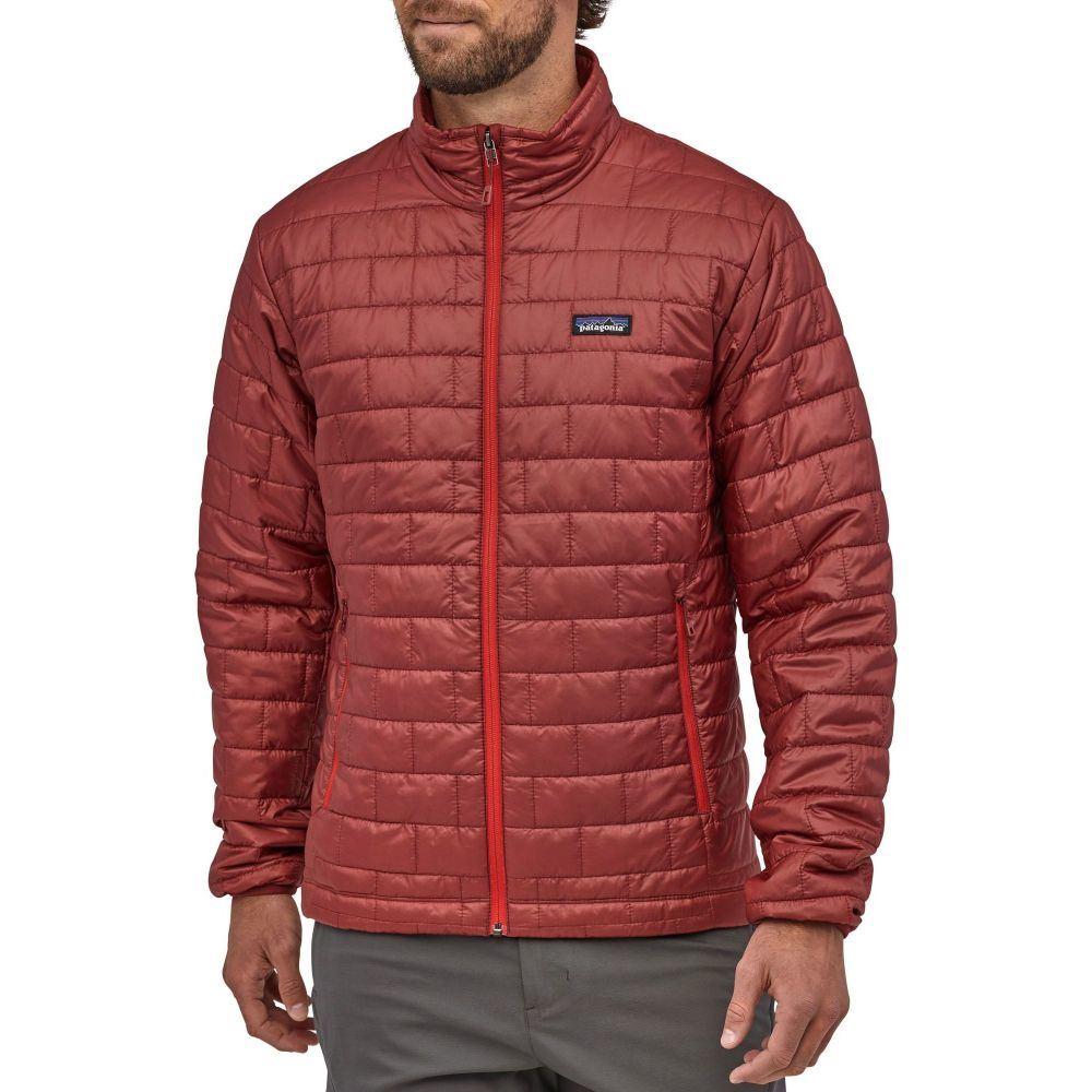 パタゴニア Patagonia メンズ ダウン・中綿ジャケット アウター【Nano Puff Jacket】Oxide Red